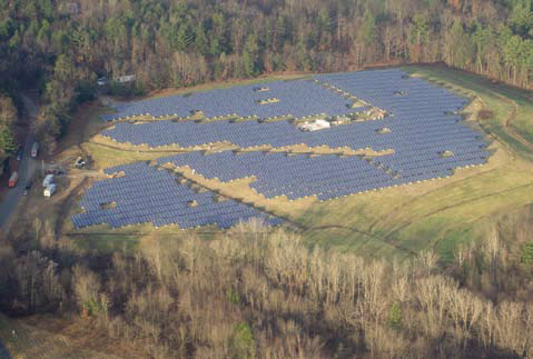 Easthampton Solar PV Array