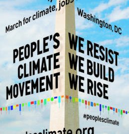 Plans in Place for April 29 Boston People's  Climate Mobilization