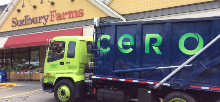 Roche Brothers, CERO, Green Needham and the RTS pitch in to make food waste composting truly local