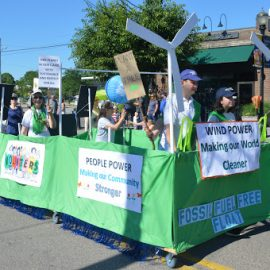 """Grand Coalition"" of Environmental Groups in July 4th Parade"