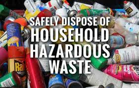 Household Hazardous Waste & Paint Collection Day at Needham RTS on Oct. 14th