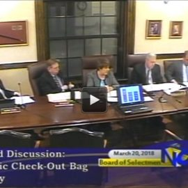 Select Board adopts voluntary single-use plastic bag policy for large stores