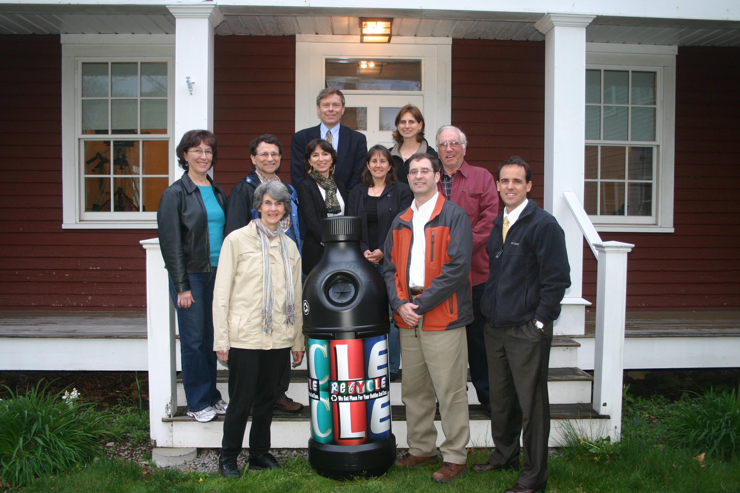 Interfaith Environmental Network fields recycling pilot