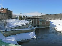 Brunswick ME Hydro Dam