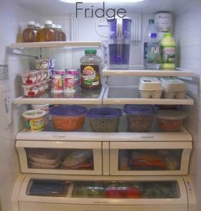 organized frig