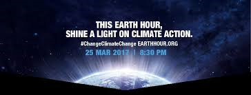 Earth Hour – Saturday March 25th at 8:30pm