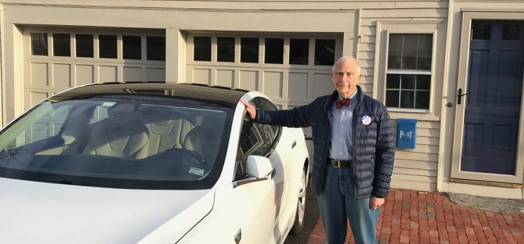 Neighbor spotlight: Moe and the Tesla