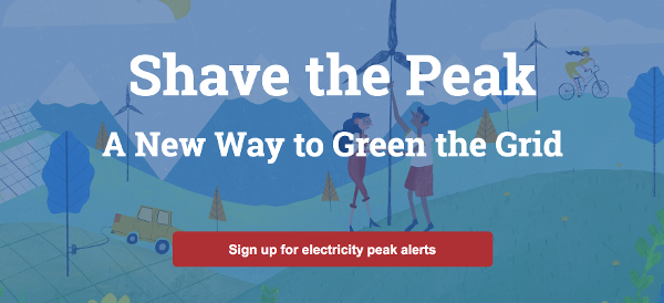 "Green Energy Consumers Alliance's ""Shave the Peak"" – A new Way to Green the Grid"