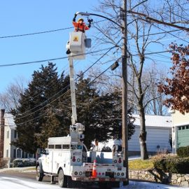 LED Streetlight installation gets underway in Needham
