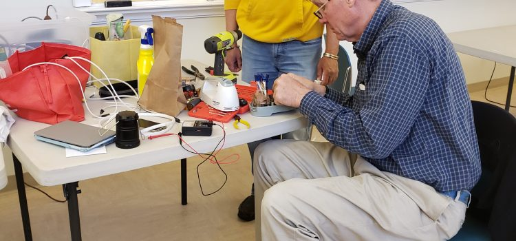 "Wellesley Rotary Club hosts Successful ""Repair Cafe"""
