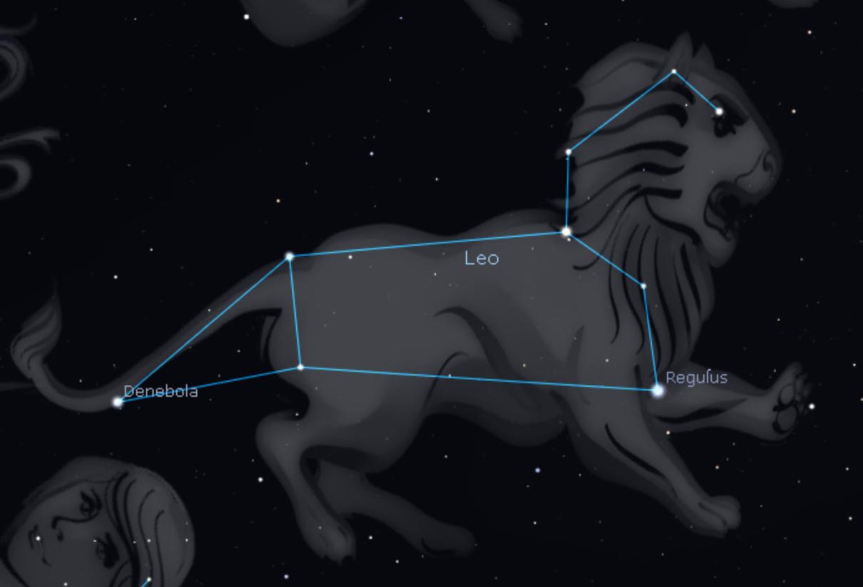 Night Sky - Leo